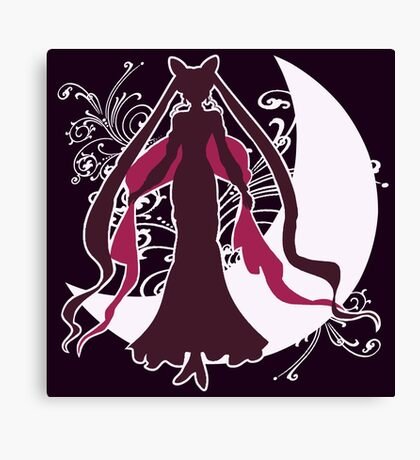 Sailor Moon - The Black Lady Canvas Print