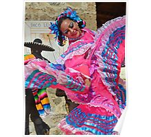 Mexican Dancer Poster