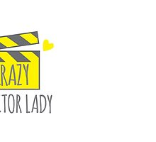 Crazy Director Lady with film board by jazzydevil