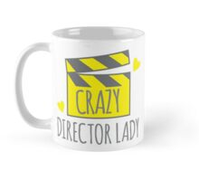 Crazy Director Lady with film board Mug