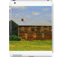 boarded up iPad Case/Skin