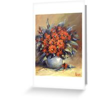 The beautiful gum nuts flowers Greeting Card