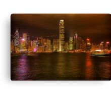 Hong Kong Skyline 1 Canvas Print