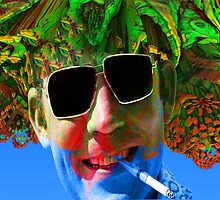 Hunter S Thompson-Gonzo Man by Icarusismart
