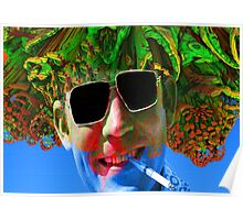 Hunter S Thompson-Gonzo Man Poster