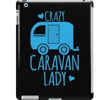 Crazy Caravan Lady iPad Case/Skin