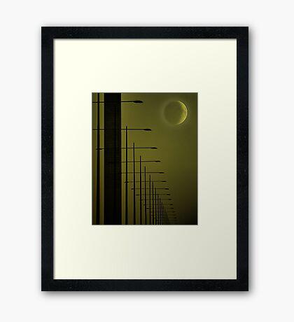 var of zee vorlds... Framed Print