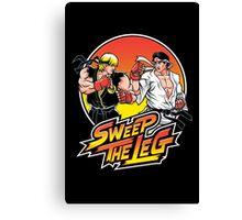 Sweep the Leg Canvas Print