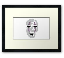 The Spirit With No Face Framed Print