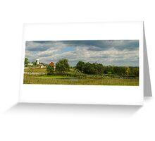 Barns and Farm  Greeting Card