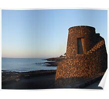 Playa Bastian, Lanzarote Poster