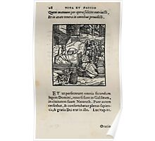 Contemplation Life and Passion Our Lord Jesus Christ Albrecht Durer 1557 0032 Poster