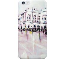 City street scene landscape iPhone Case/Skin