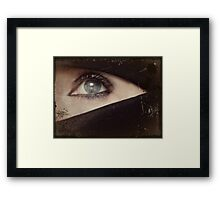 People will always love the mystery Framed Print