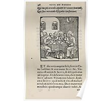 Contemplation Life and Passion Our Lord Jesus Christ Albrecht Durer 1557 0042 Poster