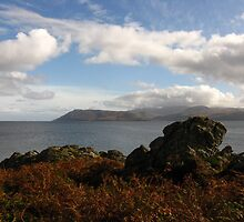 Isle Of Arran From Skipness by artwhiz47