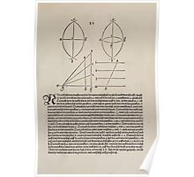 Measurement With Compass Line Leveling Albrecht Dürer or Durer 1525 0025 Crescent Poster