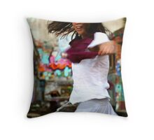 Bohemian  Spirit (Part of Glebe Tram Yard Series)  Throw Pillow