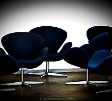 Blue Chairs by Julie-anne Cooke Photography