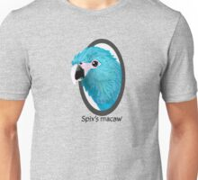 Spix's macaw Unisex T-Shirt