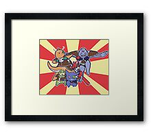 Pokemon Ginyu Force! Framed Print