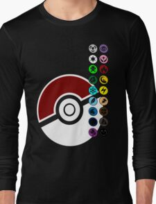Pokemon Pokeball Energy Complete  Long Sleeve T-Shirt