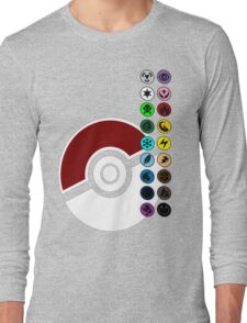 Pokemon Pokeball Energy Complete  Long Sleeve T-Shirt