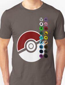 Pokemon Pokeball Energy Complete  Unisex T-Shirt