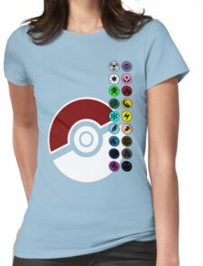 Pokemon Pokeball Energy Complete  Womens Fitted T-Shirt