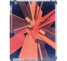 Vintage Orange Rectangles iPad Case/Skin