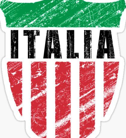 Vintage Italy Emblem Sticker