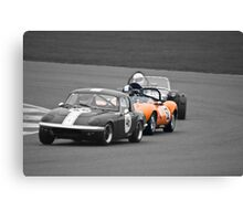 Ginetta G4 in a Lotus Sandwich Canvas Print