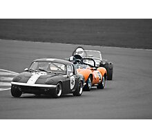 Ginetta G4 in a Lotus Sandwich Photographic Print