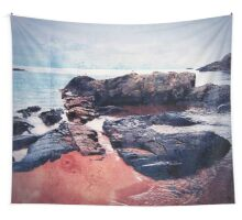 Castles In The Sand Wall Tapestry