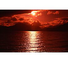 """ Summer sunset""   "" Scotland"" Photographic Print"