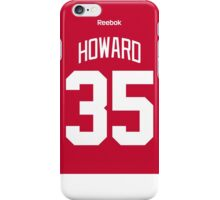 Detroit Red Wings Jimmy Howard Jersey Back Phone Case iPhone Case/Skin