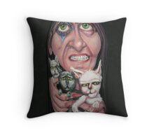 Free Kittens Throw Pillow
