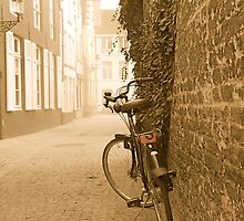 Bike in Bruges by Louise Fahy