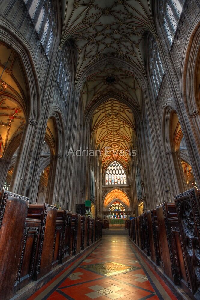 St Mary Redcliffe Church by Adrian Evans
