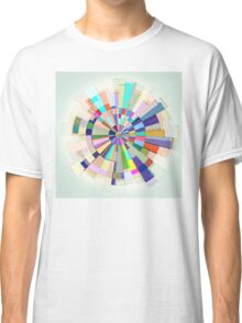 Abstract Color Wheel Classic T-Shirt