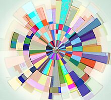 Abstract Color Wheel by Phil Perkins