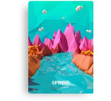 spring deny Canvas Print