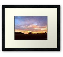 The Break of Dawn ! Framed Print