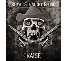 Royal Straight Flush Photographic Print
