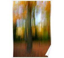 An autumn Blur Poster