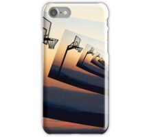 Basketball Hoop Silhouette iPhone Case/Skin