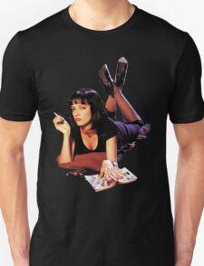 Uma Thurman Pulp Fiction Trasparent Png  T-Shirt