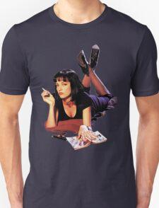 Uma Thurman Pulp Fiction Trasparent Png  Unisex T-Shirt
