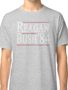 Retro Reagan Bush '84 Classic T-Shirt