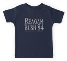 Retro Reagan Bush '84 Kids Tee